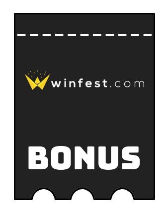 Latest bonus spins from Winfest Casino