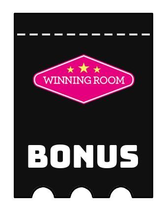 Latest bonus spins from Winning Room Casino