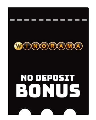 Winorama Casino - no deposit bonus CR