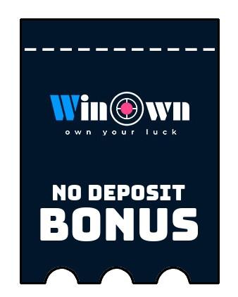 Winown - no deposit bonus CR