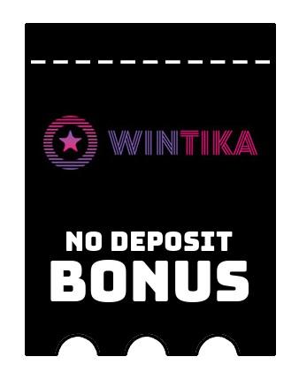 Wintika Casino - no deposit bonus CR