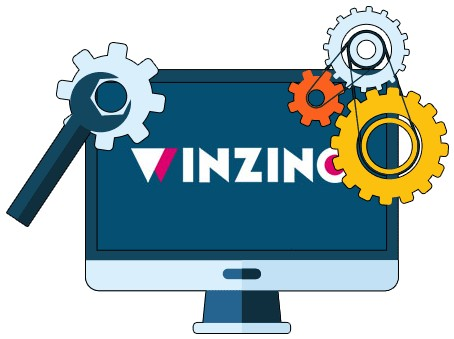 Winzino Casino - Software