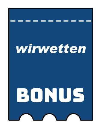 Latest bonus spins from Wirwetten