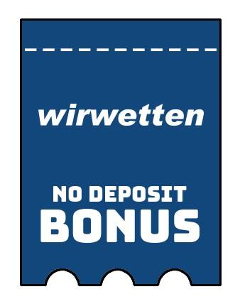 Wirwetten - no deposit bonus CR
