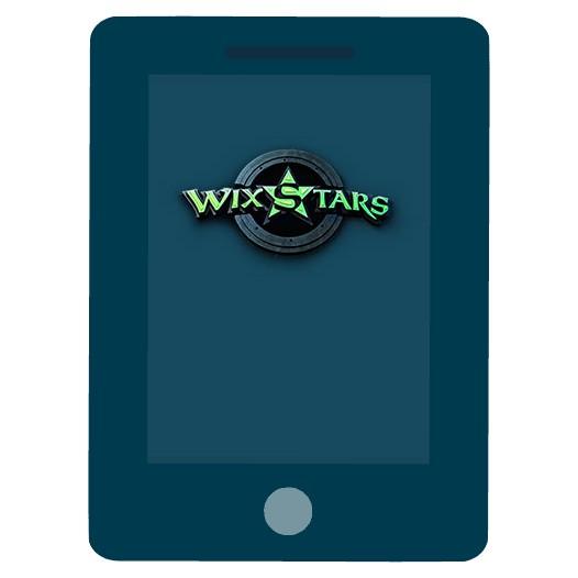 Wixstars Casino - Mobile friendly
