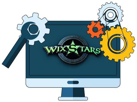 Wixstars Casino - Software