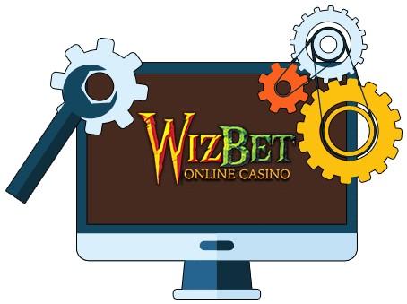 WizBet Casino - Software