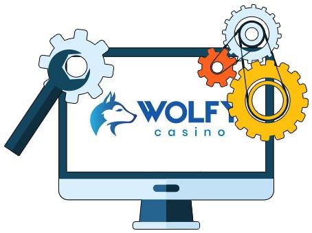 Wolfy Casino - Software