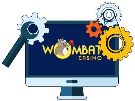 Wombat Casino - Software