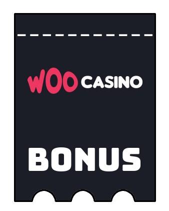Latest bonus spins from Woo Casino
