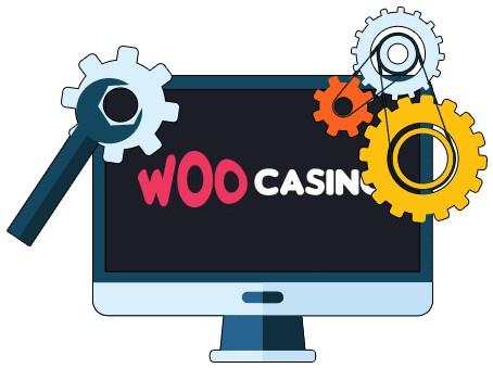 Woo Casino - Software