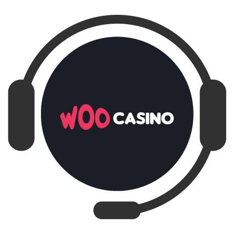 Woo Casino - Support
