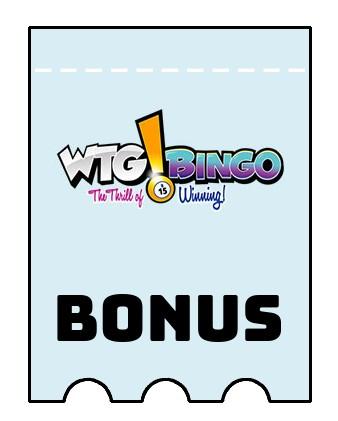 Latest bonus spins from WTG Bingo