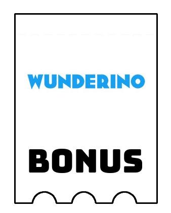 Latest bonus spins from Wunderino Casino