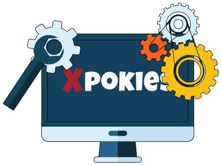 Xpokies - Software