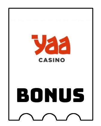 Latest bonus spins from Yaa Casino