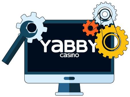 Yabby Casino - Software