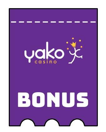 Latest bonus spins from Yako Casino