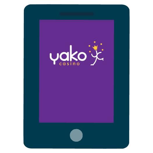 Yako Casino - Mobile friendly