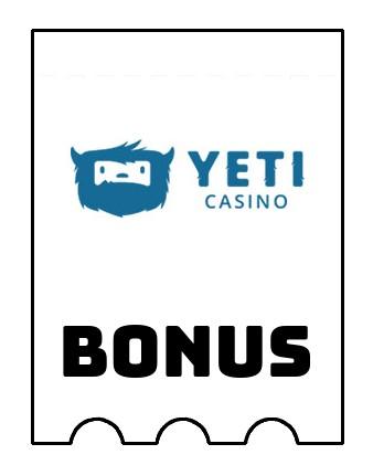 Latest bonus spins from Yeti Casino