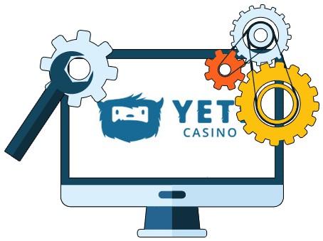 Yeti Casino - Software