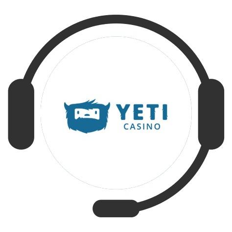 Yeti Casino - Support
