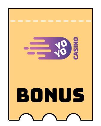 Latest bonus spins from Yoyo Casino