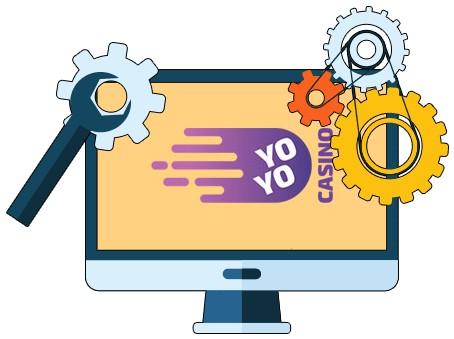 Yoyo Casino - Software