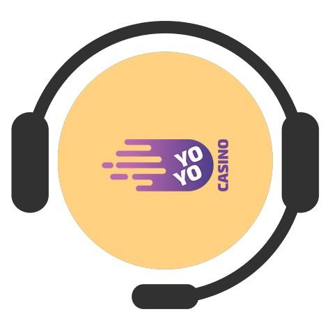 Yoyo Casino - Support