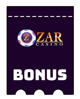 Latest bonus spins from Zar Casino