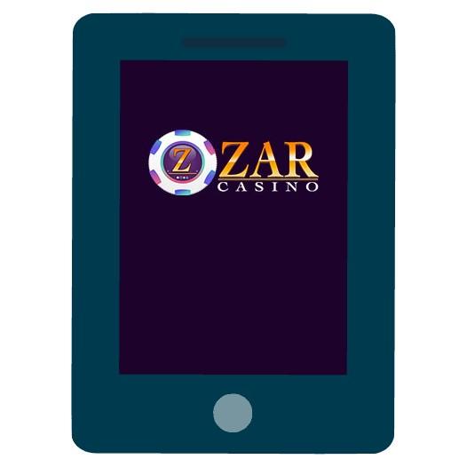 Zar Casino - Mobile friendly
