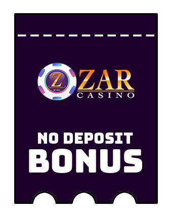 Zar Casino - no deposit bonus CR