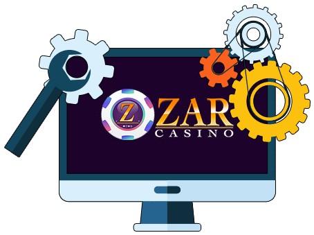 Zar Casino - Software