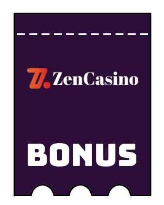 Latest bonus spins from Zen Casino