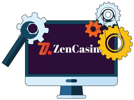 Zen Casino - Software