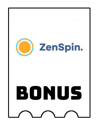 Latest bonus spins from ZenSpin