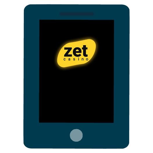 Zet Casino - Mobile friendly