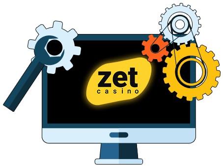 Zet Casino - Software