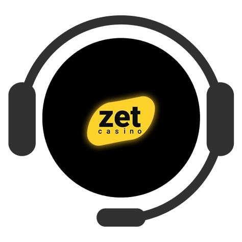 Zet Casino - Support