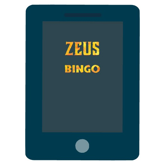 Zeus Bingo - Mobile friendly