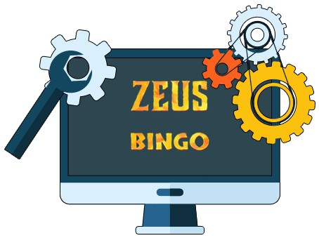 Zeus Bingo - Software