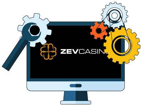 Zevcasino - Software