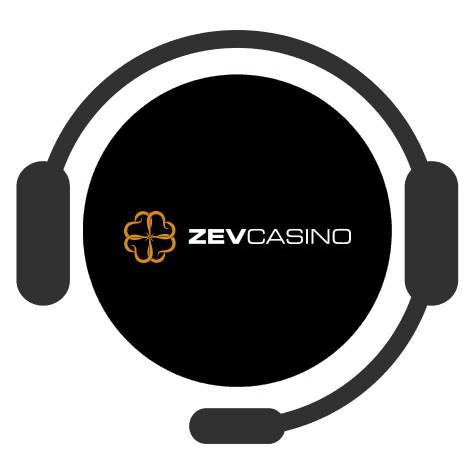 Zevcasino - Support