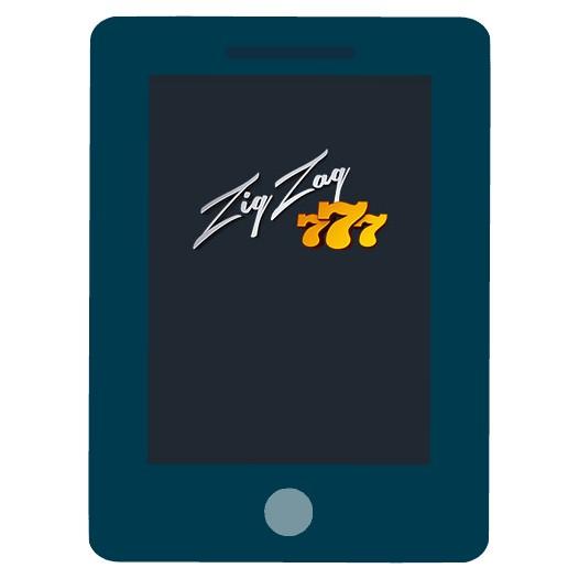 ZigZag777 Casino - Mobile friendly