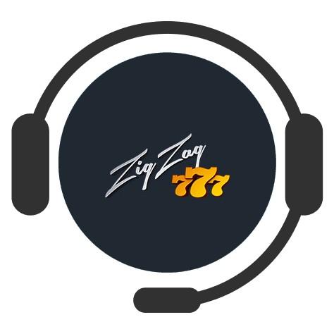 ZigZag777 Casino - Support