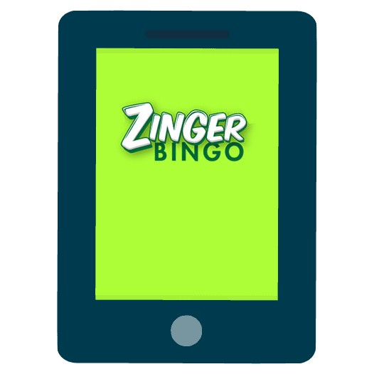 Zinger Bingo Casino - Mobile friendly