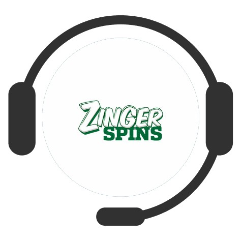 Zinger Spins Casino - Support