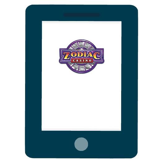 Zodiac Casino - Mobile friendly