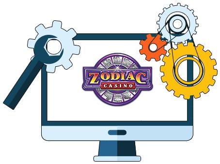 Zodiac Casino - Software