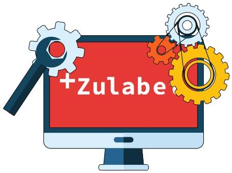 ZulaBet Casino - Software
